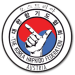 The Korea Hapkido Federation Austria Logo Shadowed