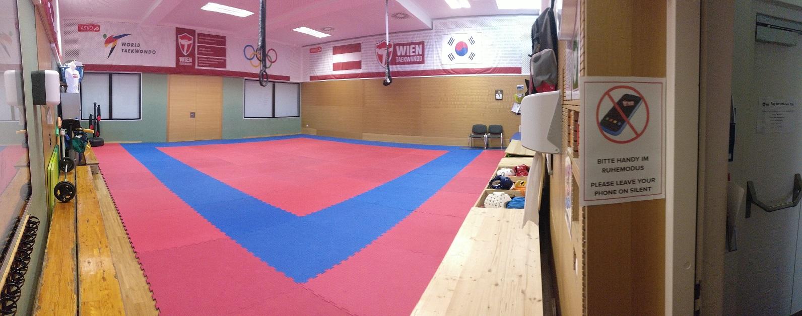 taekwondo raum stundenplan
