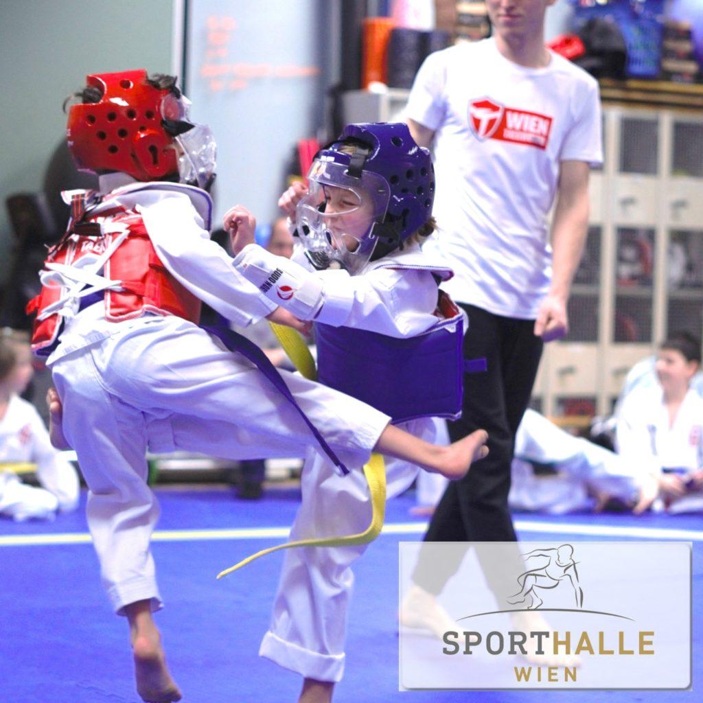 kids taekwondo sporthalle